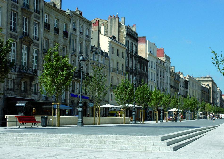 Cours du chapeau rouge seura for Agence urbanisme paysage bordeaux
